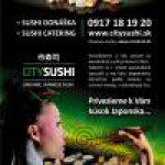 donášková služba City Sushi